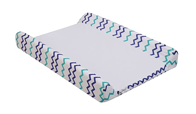 Sango Trade Wickelauflagebezug Mat 50x70 cm f/ür Wickeltischauflage des Babys Verstellbar   BAUMWOLE  Bezug  Abnehmbar  Waschbar Wickelunterlage