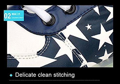 5b62bb79a77e3c ... (Present kleines Handtuch)JUNGLEST® Damen LED-Licht Leuchten Sneakers  Stern Fluorescence