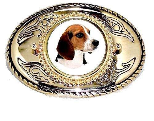 BEAGLE DOG HOUND HUNTING FOXHOUND  CANINE LEATHER BELT /& BUCKLE