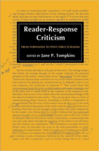 reader response to passionate declarations chapter Oratory response 1   reader-response approach was the best way to look at the story of an hour i connected on different levels with the story of a woman who fell.