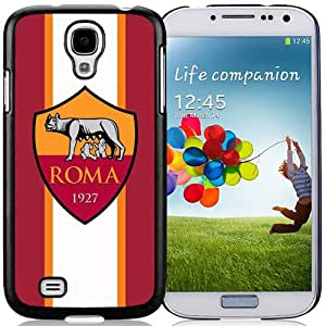 NEW Unique Design Soccer Club As Roma 04 Football Logo Samsung Galaxy S4 I9500 Cell Phone Case
