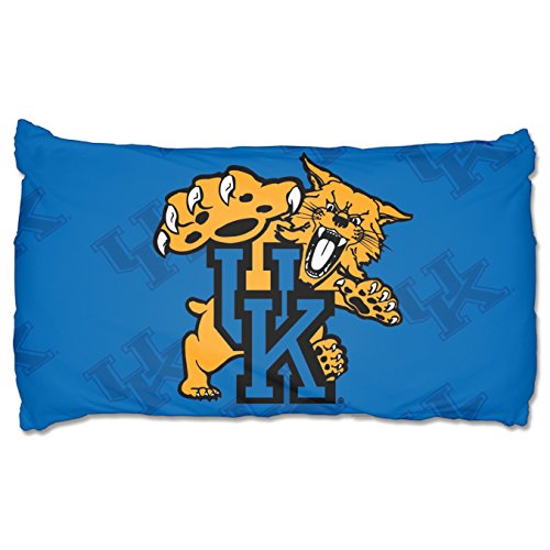 The Northwest Company NCAA Kentucky Wildcats Pillowcase Setpillowcase Set, Blue, One Size