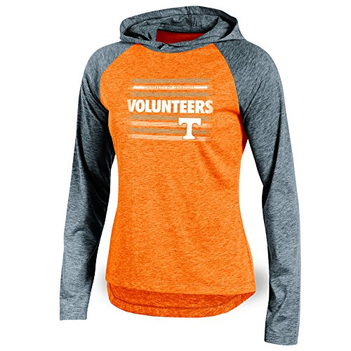 - NCAA Tennessee Volunteers Adult Women Long Sleeve Pullover Colo, Small, Orange Heather