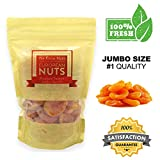 European Nuts- Premium Quality #1 Jumbo Size Dried Turkish Apricots in Resalable Bag, 3 LB Review