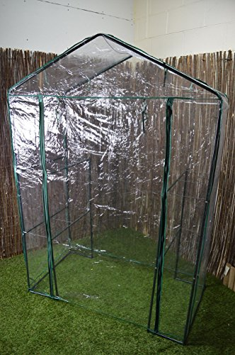 Oypla-3-Tier-4-Shelf-Mini-Walk-in-Growhouse-Garden-Greenhouse