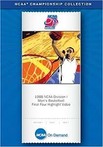 1986 NCAA(r) Division I Men's Basketball  Final Four Highlight Video