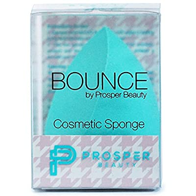 Beauty Sponge Makeup Blender Cosmetic [BOUNCE by Prosper Beauty] Applicator Tool for Foundation Concealer Powder Conturing Complexion