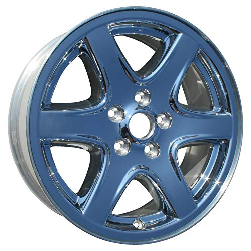 (PartSynergy Replacement For OEM Take-Off Aluminum Alloy Wheel Rim 17 Inch Fits 2003-2004 Jeep Liberty 5-114.3mm 6 Spokes)