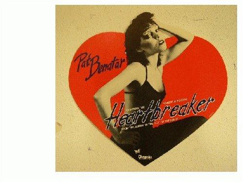 Pat Benatar Poster Heart Breaker