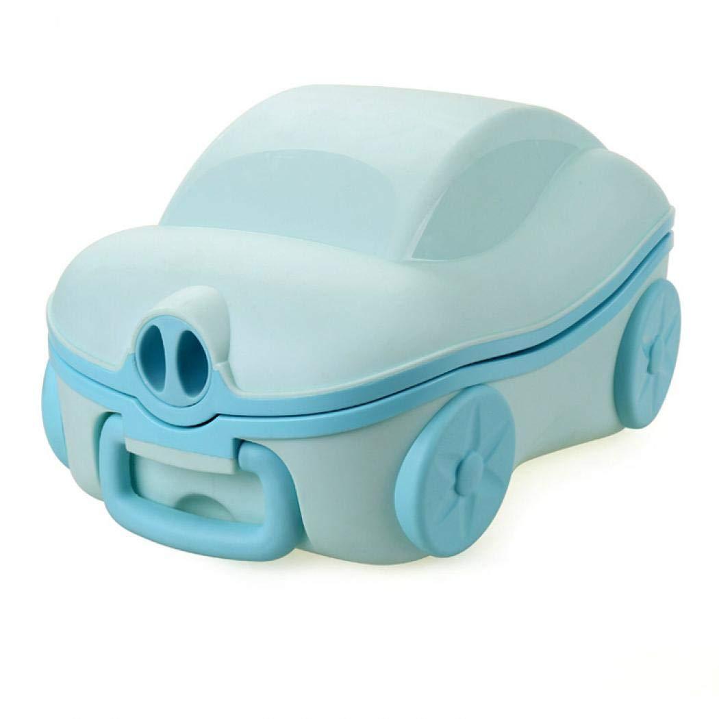 tragbares Urinal-Training Einheitsgr/ö/ße gelb Urinal-Autos Reise-T/öpfchen f/ür Kinder Toilettentraining tragbar f/ür Reisen