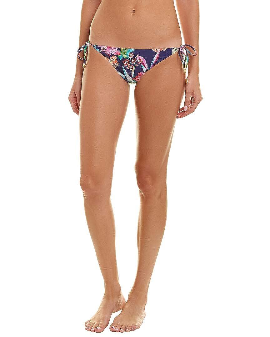 82a0347c841a Amazon.com: La Blanca Women's Bora Bora Print Tie Side Hipster ...