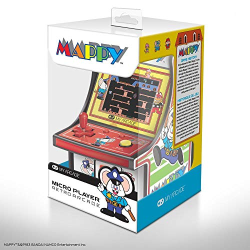 """My Arcade MAPPY Micro Player 6"""" Collectable Arcade for sale  Delivered anywhere in Canada"""
