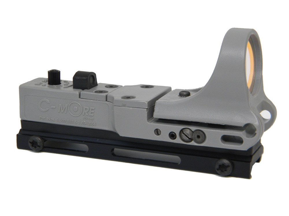 C-MORE Systems Tactical Railway Red Dot Sight with Standard Switch