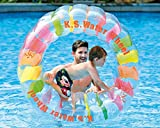 Jilong Water Wheel - Giant Inflatable Swimming Pool Water Wheel Toy (49.2' X 33')