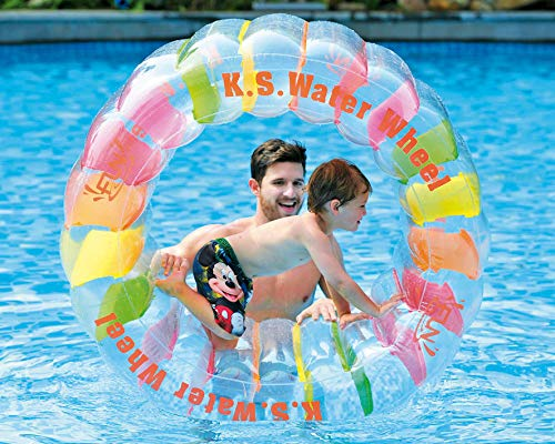 Jilong Water Wheel - Giant Inflatable Swimming Pool Water Wheel Toy (49.2