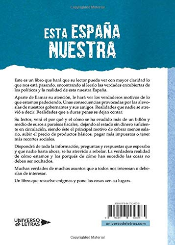 Esta España nuestra (Spanish Edition): Antonio Regueiro: 9788417139575: Amazon.com: Books