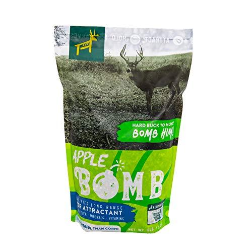 REDMOND Hunt - Fortified Long Range Deer Attractant/Supplement Feed (Apple Bomb 6 LB)