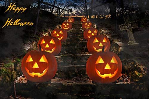 Sunshinehomely Happy Halloween Home Decoration, Halloween Horrifying Backdrops