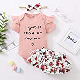 Toddler Baby Girl Clothes Rompers Shorts Set Baby