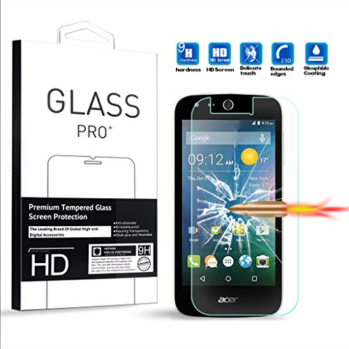 Tempered Glass for Acer Liquid Z330 (Clear) - 8