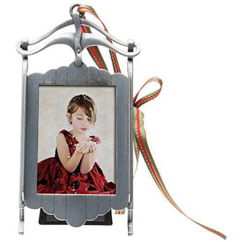 Cover Photos Christmas - Photo Ornament Sled Frame