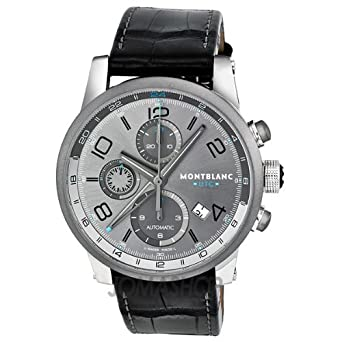 cdc4634f7a1 Image Unavailable. Image not available for. Color  Montblanc Timewalker  ChronoVoyager UTC Automatic Mens Watch 107339