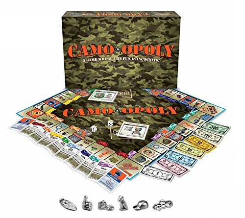 (Late for the Sky Camo-opoly Board Game)