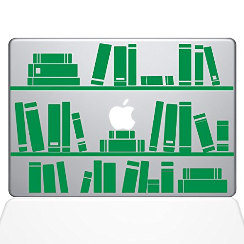 The Decal Guru 1649-MAC-15P-LG Bookshelf Library Decal Vinyl