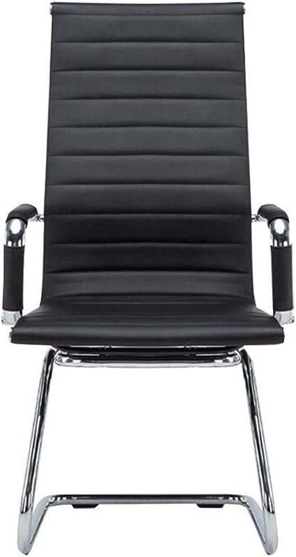 Lsmaa Las sillas de Oficina sin Ruedas, Silla Silla de Oficina del ...
