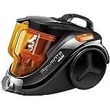 Rowenta Compact Power Cyclonic - Aspirador, color negro y naranja