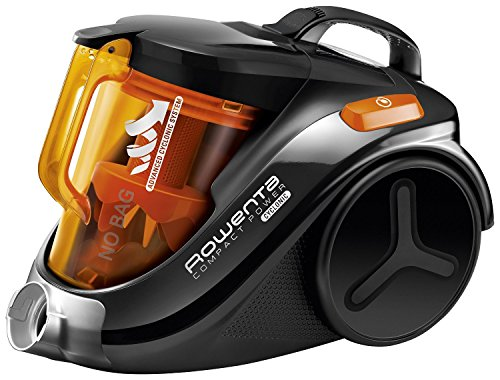 Rowenta Compact Power Cyclonic RO3753 – Aspirador, color negro