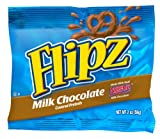 Flipz Milk Chocolate Pretzel, 2-Ounce. Bags (Pack of 24)