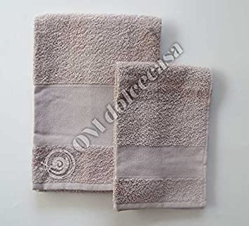 Set esponjas esponja baño toallita Viso + invitados 100% Esponja con inserto de tela aida para punto a punto de cruz color avellana: Amazon.es: Hogar