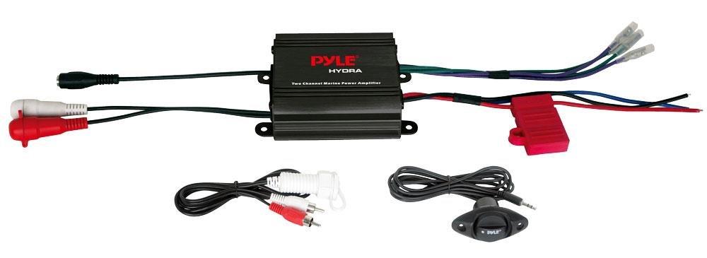 pylplmrmp1b – Pyle plmrmp1b Hydraシリーズ2チャネル400-watt防水Marine MicroクラスAB Amp B076Q7YKZS