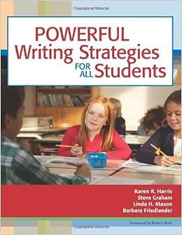 Writing strategies?