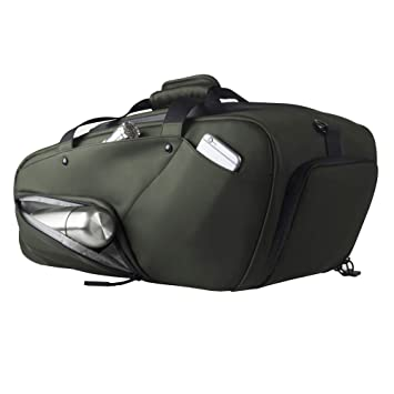 6a9bafe59f1822 Sports Duffel Bag For Men Women Travel Luggage Bag Gym Bag with Shoe  Compartment