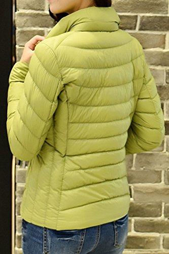 Outcoat Plussize Invierno Pato Acolchadas Blanco Casual Mujer Ultralight Parkas La Verde Abajo TxBH1H