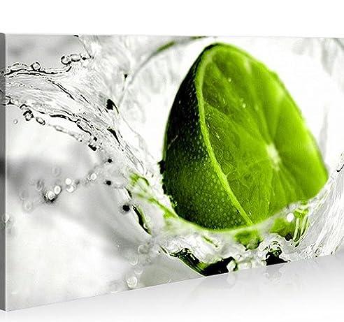 Amazon.De: Bild Bilder Auf Leinwand Lime Küche Früchte 1P Xxl