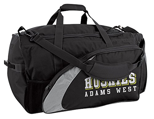 Champro Varsity Football Equipment Bag (Black, 28 x 15 x 15) ()