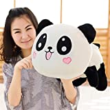 Best Heart To Heart Gift For A Three Year Olds - Lying Plush Panda Toy Stuffed Throw Pillow Review