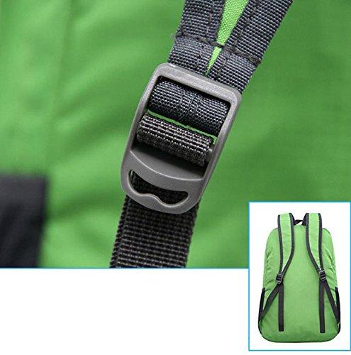 HCLHWYDHCLHWYD-Súper ligero mochila bolsa de viaje hombres y mujeres al aire libre de la piel se pliega bolso impermeable bolsa pequeña bolsa de playa del hombro , 6 5