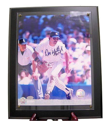 - Don Mattingly Autographed Signature Photo Mounted Memories 8x10