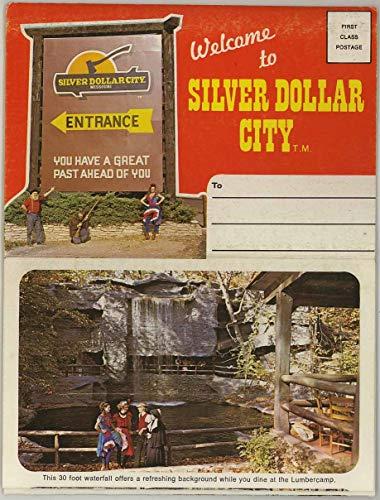 Silver Dollar City - Missouri Ozarks - 1977 Dexter Souvenir Postcard Folde