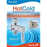 Brondell MVK10 Home Bathroom HOT/COLD Mixing Valve Kit For CS And CSL