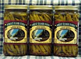 Spiced Pickled Beans--3 jar set