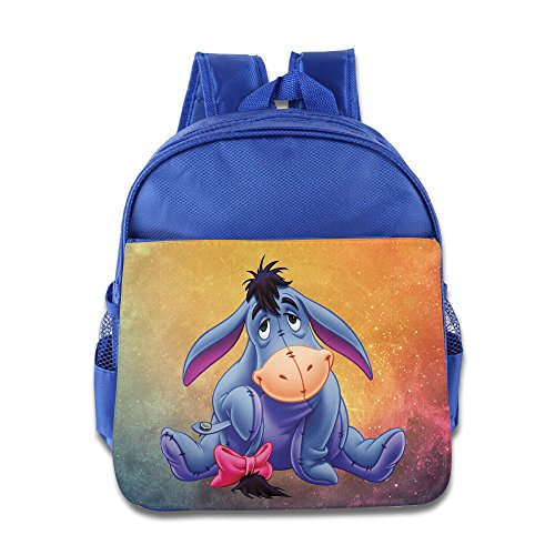 [Custom Cutest Eeyore The Pooh Personalized Boys And Girls School Bag Backpack For 1-6 Years Old] (Czech Costumes Jewelry)