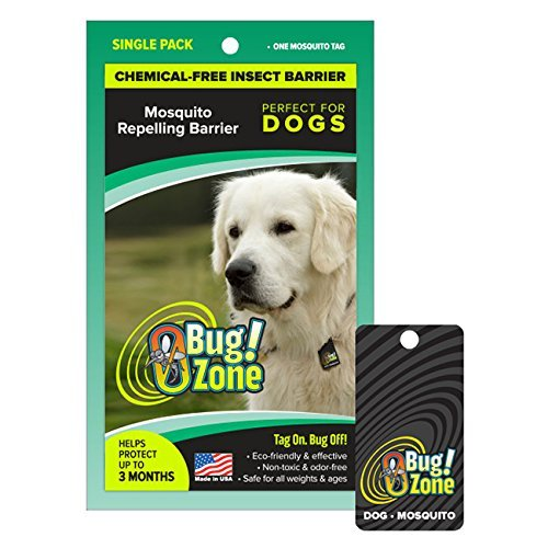 0BugZone Dog Mosquito Tag Single Pack (previously known a...