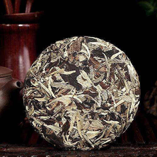(Yunnan Organic Pu'er Moonlight Beauty White Buds Pu-erh Tea Raw Cake Puer 100g Pu Er Sheng Cha Puerh )