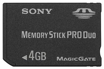 4 gb Memory Stick Pro para Sony Cyber-shot dsc-p100