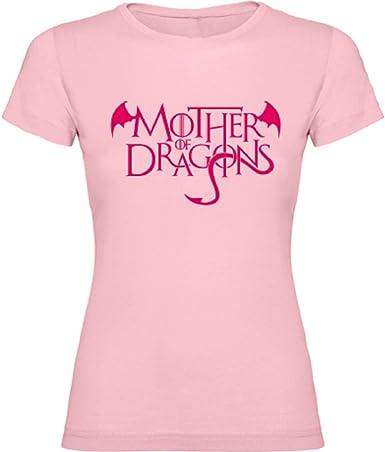 Camiseta Manga Corta Mother of Dragons - Madre de Dragones Juego de Tronos: Amazon.es: Ropa y accesorios
